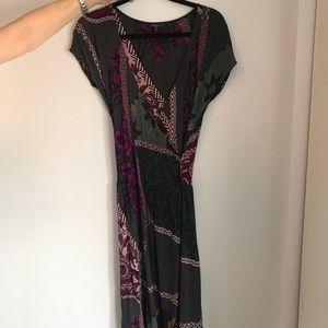 Etro Multicolor Wrap Dress